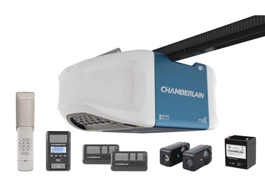 review chamberlain wifi smart garage door opener