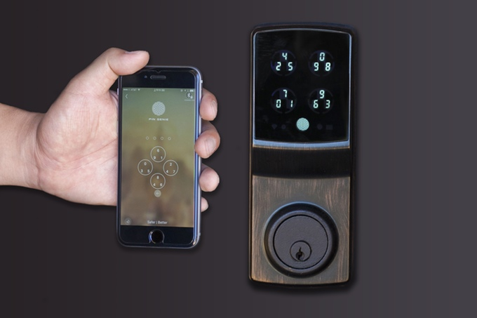 Kickstarter The Pin Genie Smart Door Lock