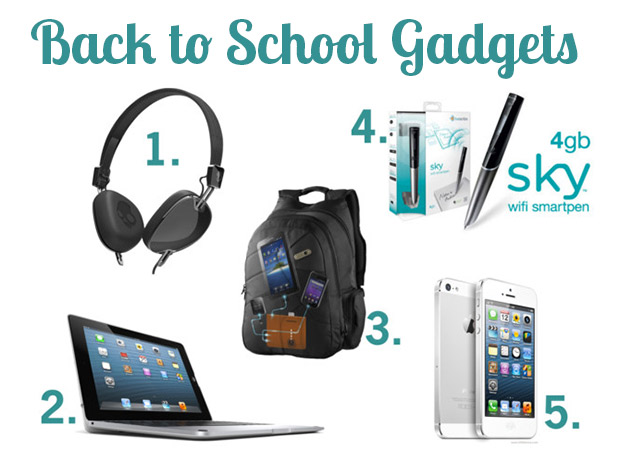 Back to School Gadgets for an A+ School Year